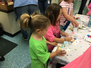 spring Fling Cookie decorating